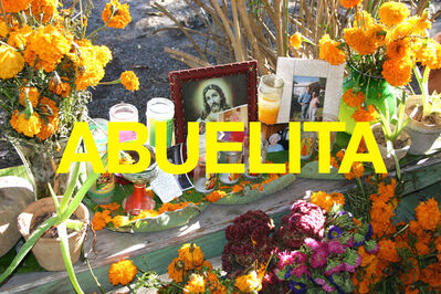 Chuck Ramirez, 'Words: Abuelita', 2004