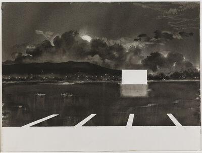 Alfred Leslie, 'Drive-In Movie, Santa Barbara, California', 1978-1981