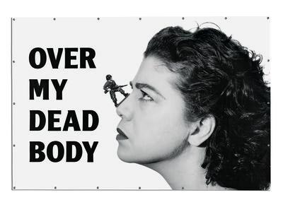 Mona Hatoum, 'Over my dead body ', 1988-2002