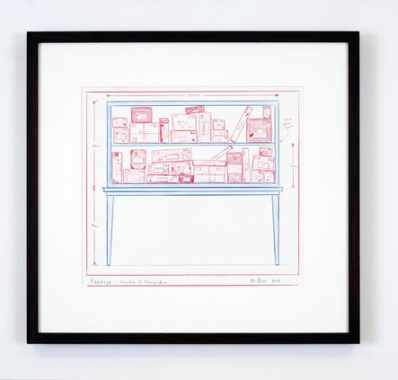 Mark Dion, 'Packages-Centre G. Pompidou', 2013