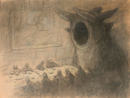 Shaun Tan, 'I Thought You Invited Him', 2016