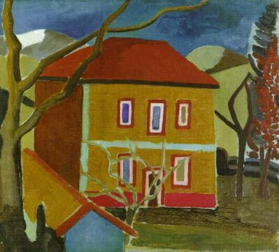 Ben Nicholson, 'Casa Guba', 1922