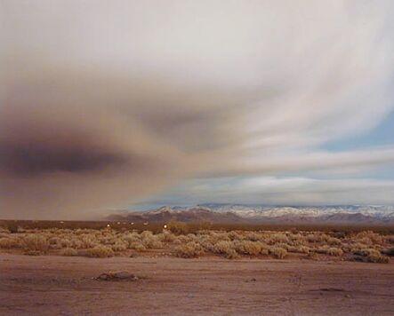 Richard Misrach, 'Clearing Storm Near Kingman', 1985