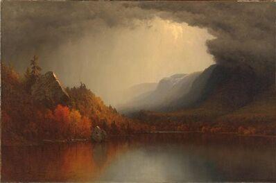 Sanford Robinson Gifford, 'A Coming Storm', ca. 1863