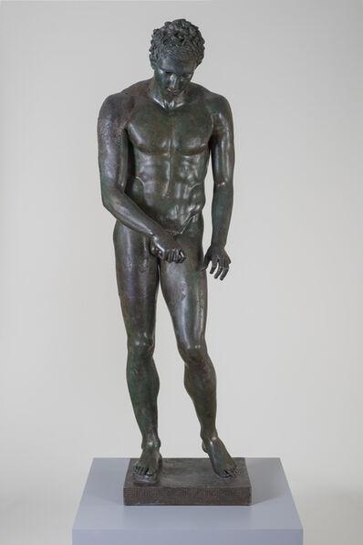 "'Athlete ""The Croatian Apoxyomenos""', 100-1 B.C."