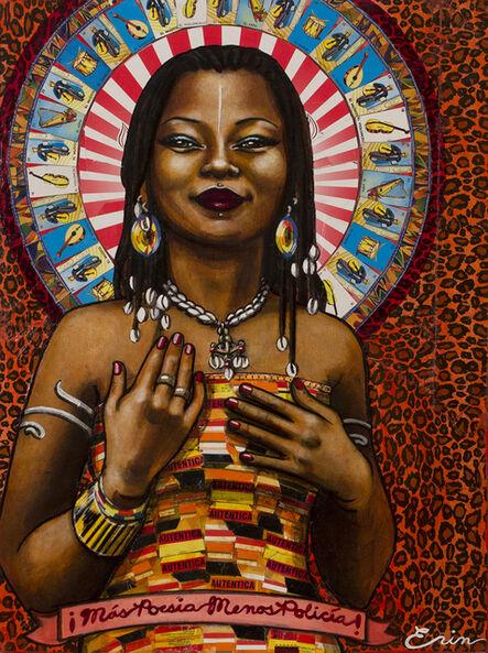 Erin Currier, 'Mali Musician, Fatoumata Diawara', 2017