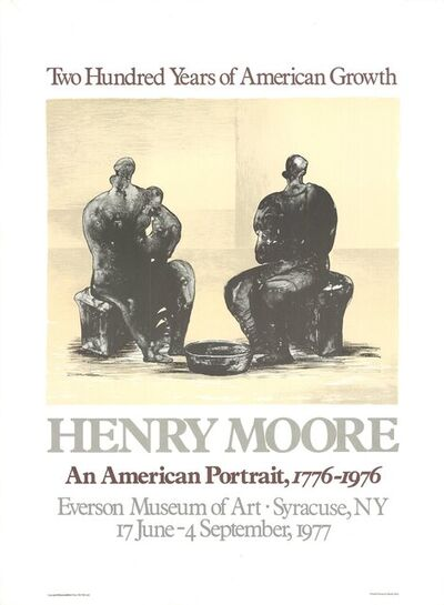 Henry Moore, '200 Years of American Growth', 1975