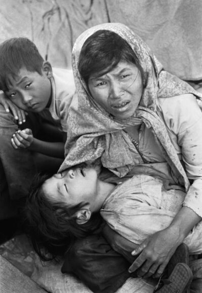 Eddie Adams, 'Boat of No Smiles, South Vietnamese refugees, Gulf of Siam, Thanksgiving Day, 1977', 1977