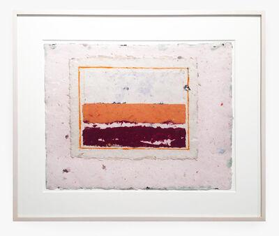 Kenneth Noland, 'untitled', 1975