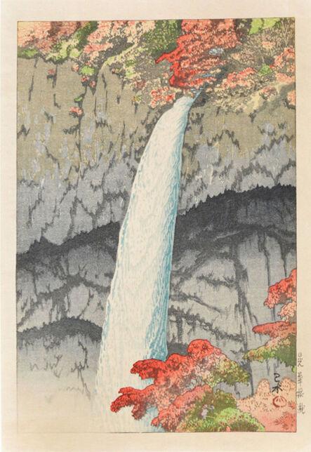 Kawase Hasui, 'Kegon Waterfall at Nikko', 1927
