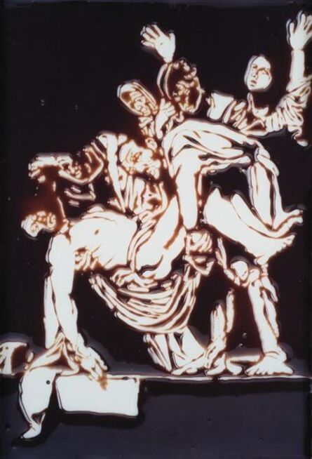 Vik Muniz, 'Descent from the Cross (after Caravaggio from Pictures in Chocolate series)', 2000