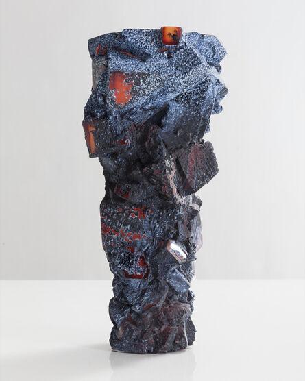 Thaddeus Wolfe, 'Unique blown glass assemblage vessel', 2015