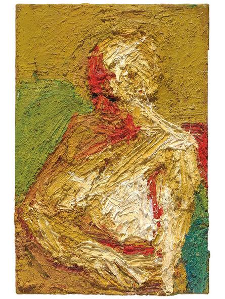 Frank Auerbach, 'E.O.W., Half-length Nude', 1963