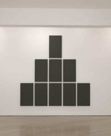 Alan Charlton, 'Pyramid', 2011