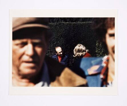 Lynn Hershman Leeson, 'Roberta and Blaine in Union Square (Close Up)', 1975