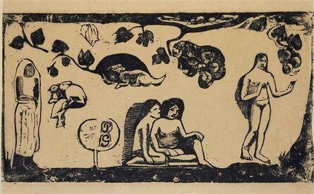 Paul Gauguin, 'Femme Animaux'