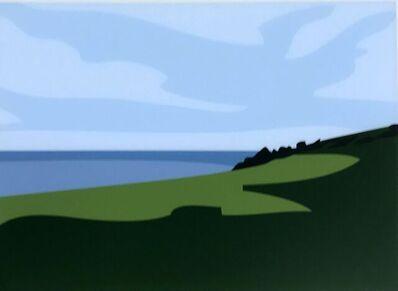 Julian Opie, 'Cornish Coast 1: Lantivet Coast', 2017