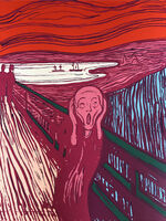 Andy Warhol, 'The Scream - Pink', 1967 printed later