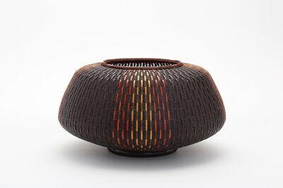 Kajiwara Koho, 'Three Color Hietsu-Plaited Flower Basket', 2014