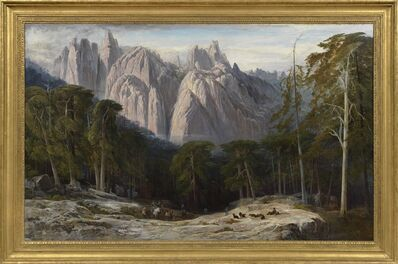 Edward Lear, 'The Forest of Bavella, Corsica', 1868