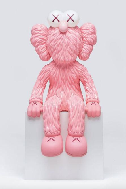 KAWS, 'Seeing BFF (Pink Lamp)', 2020