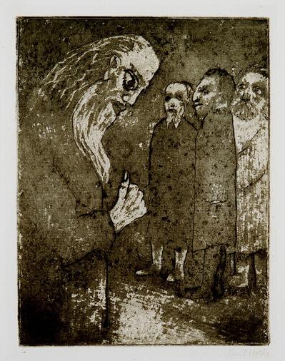 Emil Nolde, 'Staatsmann und Bürger (Statesman and Citizen)', 1918