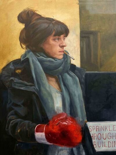 Augusto Fanjul, 'Ivanna in the Ring', 2019