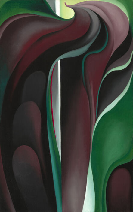 Georgia O'Keeffe, 'Jack-in-the-Pulpit No. IV', 1930