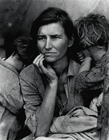 Dorothea Lange, 'Migrant Mother, Nipomo, CA', 1936