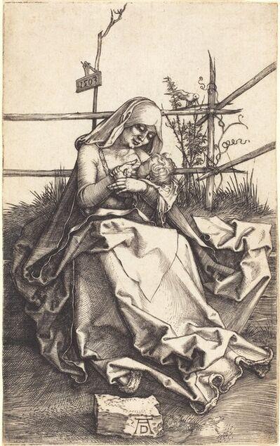 Albrecht Dürer, 'The Virgin and Child on a Grassy Bench', 1503