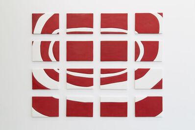 Sadie Benning, 'Red and White Painting', 2013