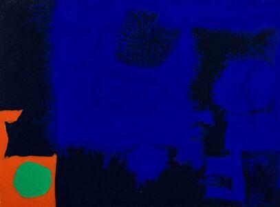 Patrick Heron, 'Indigo, Ultramarine, Orange and Emerald', 1970