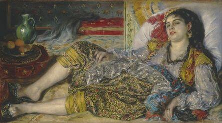 Pierre-Auguste Renoir, 'Odalisque', 1870