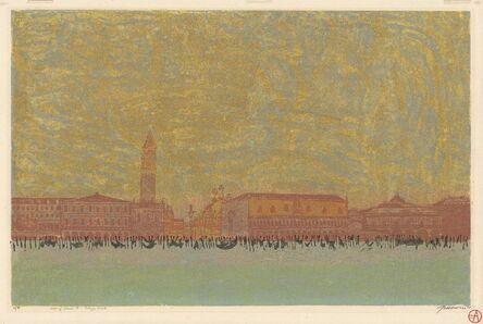 Antonio Frasconi, 'View of Venice - Palazzo Ducale.', 1968