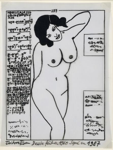 Isidore Isou, '397', 1960