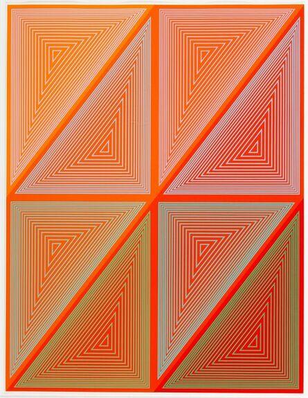 Richard Anuszkiewicz, 'Inward Eye #1, from Inward Eye', 1970