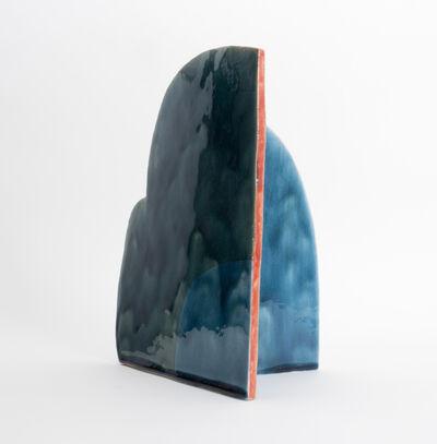 Keiko Narahashi, 'Untitled (Double Blue Arc)', 2018
