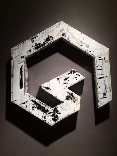 Jorge Enrique, 'Wall Vessel 8 (White Lightening)', 2016