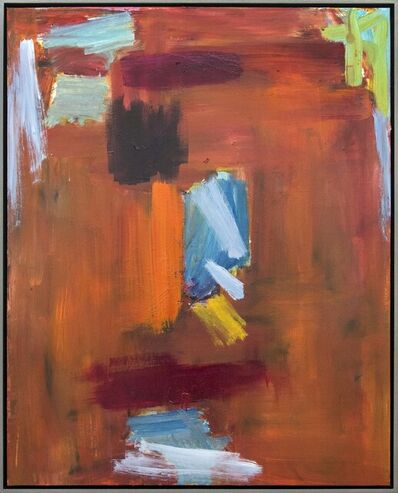 Scott Pattinson, 'Ouvert No 54 - warm, vibrant, colourful, gestural abstraction, oil on canvas', 2018