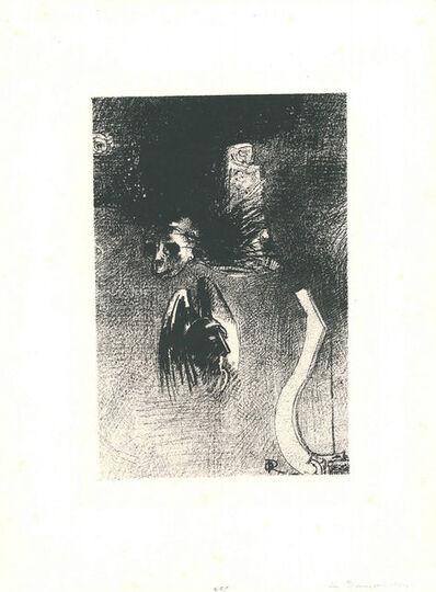 Odilon Redon, 'La damnation de l'artiste', 1889