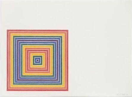 Frank Stella, 'Cipango', 1972