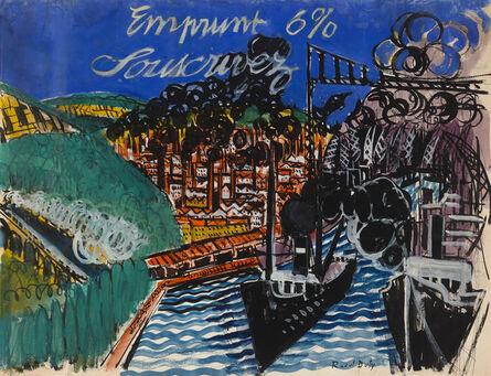Raoul Dufy, 'Emprunt 6% Souscrivez', ca. 1919