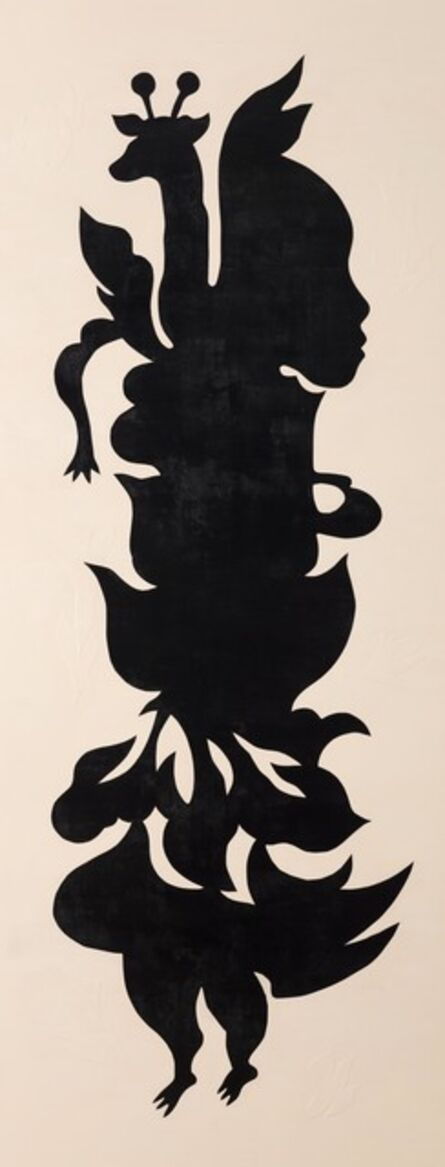 Jam WU, 'Black Paper Cut-Outs No.2 – Canvas Collection', 2015