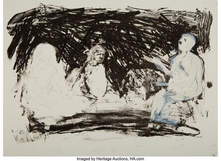 Eric Fischl, 'Annie, Gwen, Lilly, Pam, and Tulip', 1986