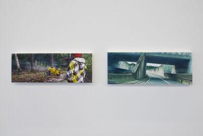 Robert Devriendt, 'The Missing Script : Painting n° 8 and 9', 2015-2016