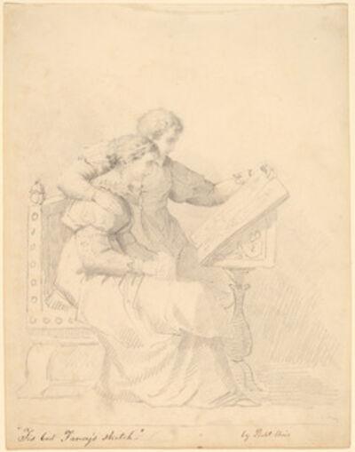 "Robert Walter Weir, '""Tis but Fancy's Sketch""', 1850s"