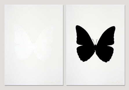 Damien Hirst, 'The Souls III - Cotton White  + Raven Black (sold as set)', 2010