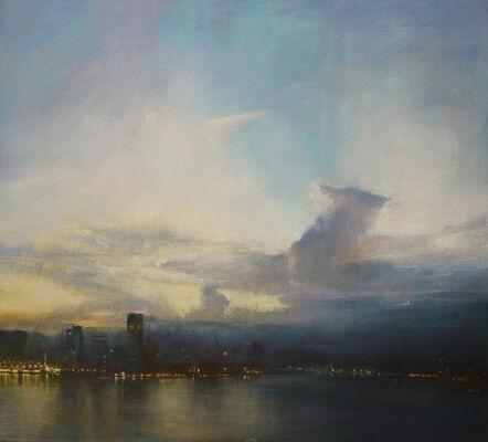 Benjamin Warner, 'Early Evening, Hong Kong Harbour', 2019