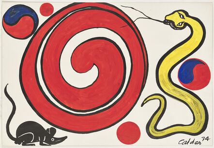 Alexander Calder, 'Mickey Mouse', 1974