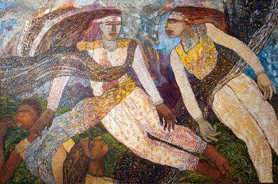 Jayashree Chakravarty, 'Hovering angels', 1988
